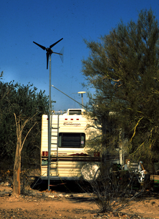 Power up your RV with wind power