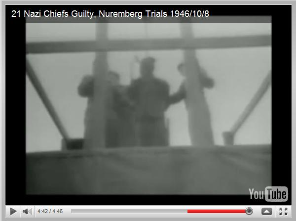 UniversalNewsreels: 21 Nazi Chiefs Guilty, Nuremberg Trials 1946/10/8