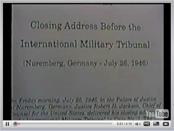 Nuremberg Day 187 Jackson's Closing (July 26, 1946)
