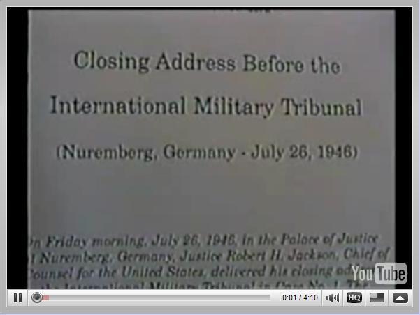 Nuremberg Day 187 Jackson's Closing (July 26, 1946)