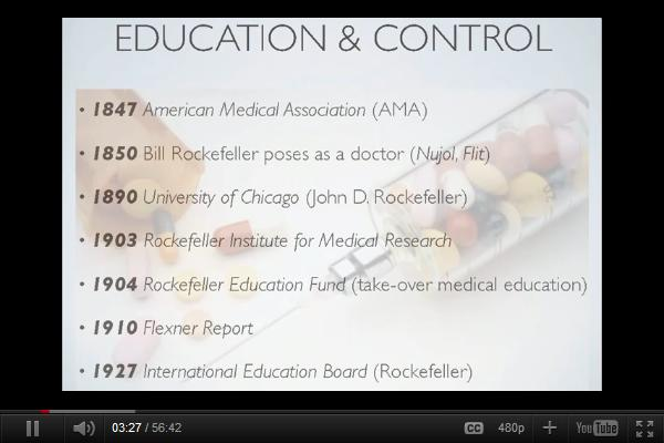 Rockefellers and the Control of Modern Medicine