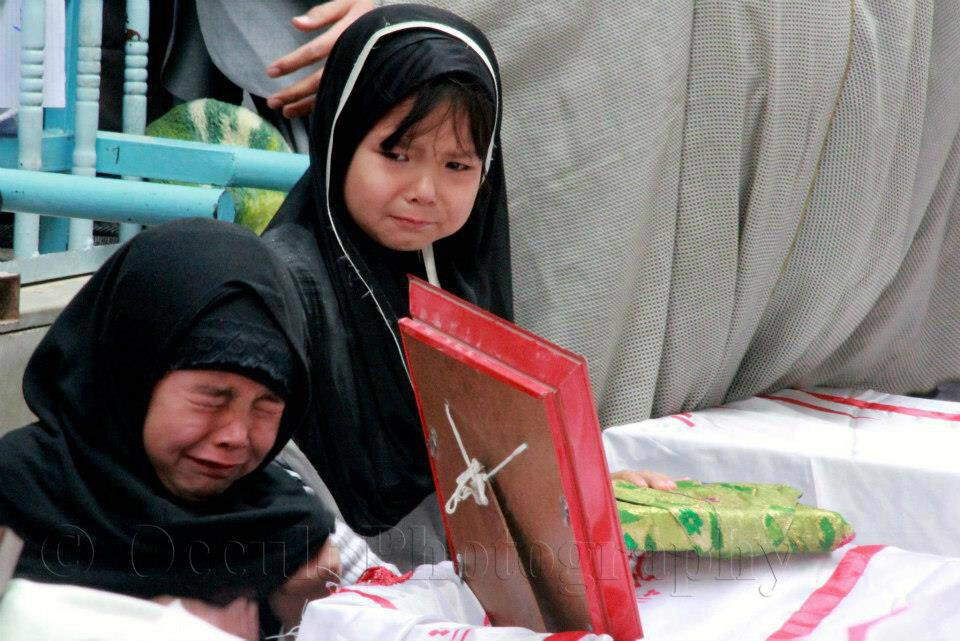 Mourning their dead, Shia Muslim Hazara Girls, via criticalppp