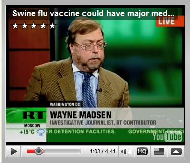 RussiaToday August 24, 2009: Swine flu vaccine could have major medical side effects