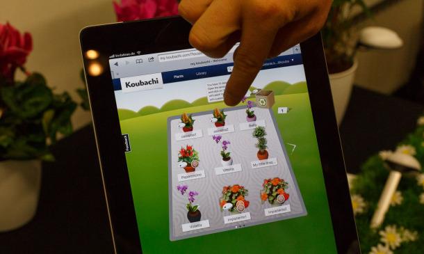 Koubachi's $99 Wi-Fi plant monitor outsmarts the garden gnome