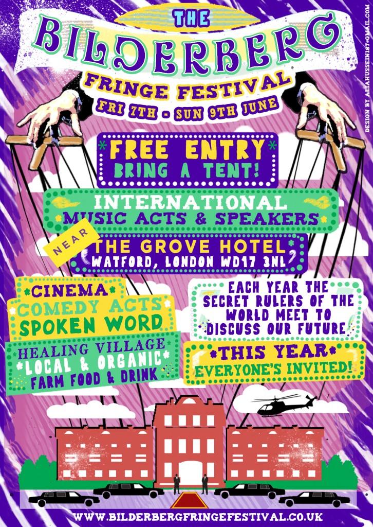 Bilderberg Fringe Festival Poster