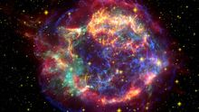 Strenenexplosion Supernova Bakterien Nachweis Erde