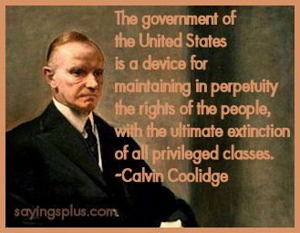 Calvin Coolidge Quotes and Sayings