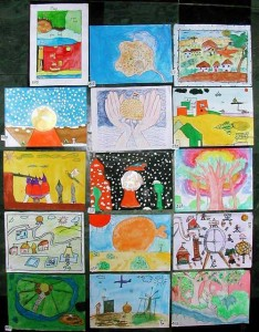 kids drawings 234x300 Creativity: the cornerstone to improving the environment