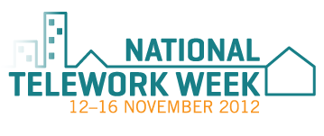 National Telework Week 2012. Image Source: http://www.telework.gov.au