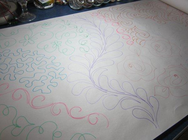 practice doodling
