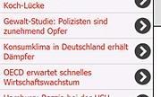 Screenshot: Elchradio für Windows Mobile (Quelle: SWR3.de)