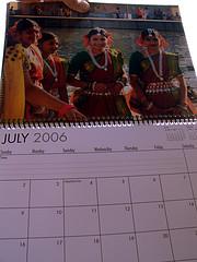 My 2006 Calendar
