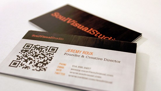 Soulvisual Studio Business Card