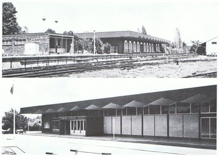 The 1966 passenger terminal building