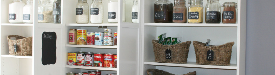 DIY and organizing a pantry (part II)