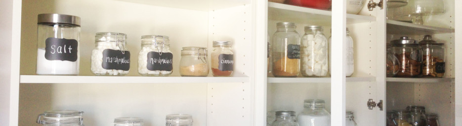 DIY and organizing a pantry (part I)