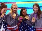 London Recap: Missy Franklin, USA Women Shine In Pool