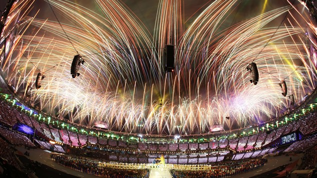 'Happy And Glorious' Games Close In London