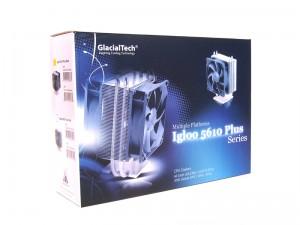 GlacialTech Igloo 5610 Plus Silent CPU Cooler Review