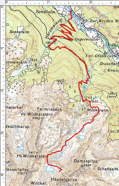 Der Routenverlauf im Detail