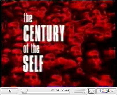 Click to watch: BBC 4 Part Series by Adam Curtis - The CENTURY of the SELF