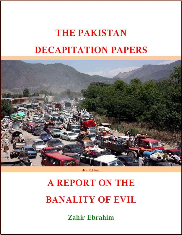 Frontcover Pakistan Decapitation Papers 4th Edition 2011
