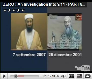 ZERO : An Investigation Into 9/11 - PART 8 of 10, Interview with Giulietto Chiesa, Journalist - Member of the European Parliament, disclosing the fictional CSIS Imagery presented to the Commission of the European Parliament for Security and Defense, in the summer of 2005, of Mr. Osama Bin Laden claiming the fictional destruction of NATO HQ in Brussels!