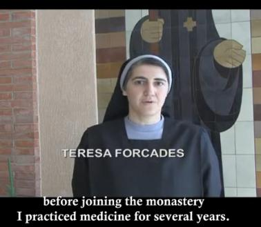 Bell Tolling for the Swine Flu - Interview with Spanish Benedictine nun at San Benet of Montserrat's monastery, Dr. Teresa Forcades, M.D., Physician specialist in Internal Medicine, Ph.D. specialized in Public Health, dated 9-23-2009 - Courtesy ALISH  http://vimeo.com/7298827 , English transcript at http://timefortruth.es/monograficos/gripe-a-vacunacion/   cached at http://humanbeingsfirst.wordpress.com/files/2009/11/cacheof-pdf-english-transcript-bell-tolling-for-swine-flu.pdf  - via RKM newslog via Brasscheck TV