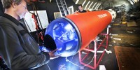 Spacecraft Hatch Recovered From Seabed