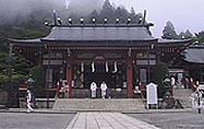 大山寺本殿、正面