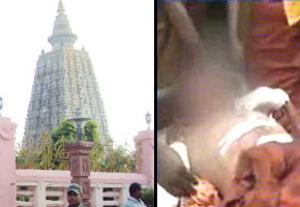 Serial blasts rock Mahabodhi Temple in Bodh Gaya