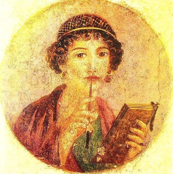 La poetisa de Pompeya