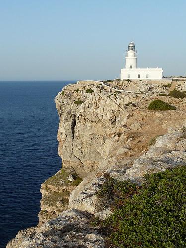 Menorca: Cabo y Faro de Cavallería