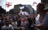 EDL members demonstrate in Tower Hamlets. the group has raised its profile since the Woolwich killing.