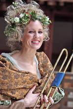 A brass act: Star trumpeter Alison Balsom is set to perform in Gabriel at the Globe and Latitude festival