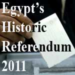 Initial Results for Egypt Historic referendum 2011