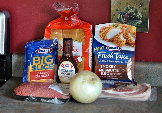 Kraft Fresh Take Smokey Mesquite BBQ Recipe Ingredients