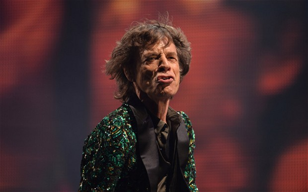Mick Jagger and The Rolling Stones perform on the main Pyramid Stage. Rolling Stones mocked on Twitter after Glastonbury performance