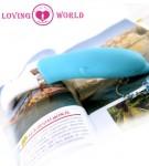 六频海豚按摩棒翠蓝爱世界