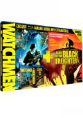 Watchmen + Tales of the Black Freighter (3-disc Blu-ray)