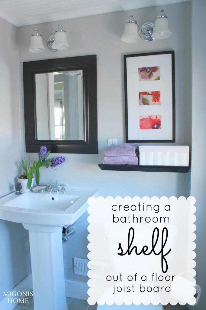 Floor Joist Shelf | Migonis Home