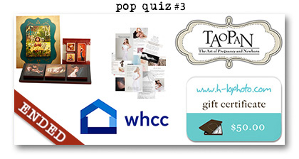 Paperie Boutique Birthday pop quiz three