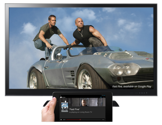 Google's New $35 Apple TV Killer – The Chromecast – HDMI Dongle