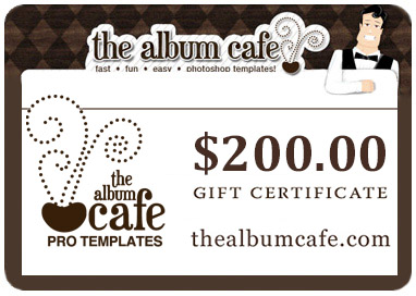 Album Cafe gift card