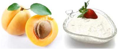 Paste of Apricots and Yogurt
