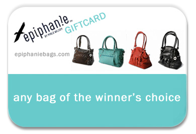 epiphanie bag giftcard contest prize