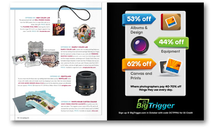 Professional Photographer Magazine October 2011 issue Goods Weddings by Robyn Pollman