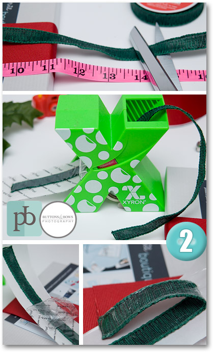 holiday giftwrap photography