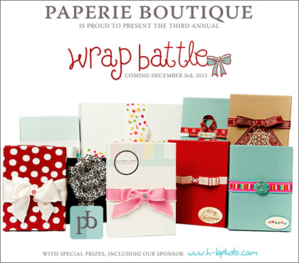 Paperie Boutique Packaging Giftwrap Battle 2012