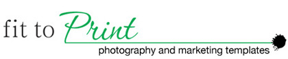 Fit to Print photographer marketing templates